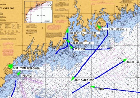 AIS Live fleet monitoring of marine traffic.