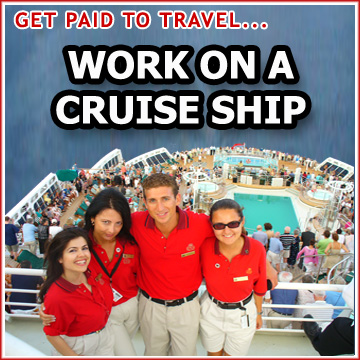 How to find a job on a cruise ship