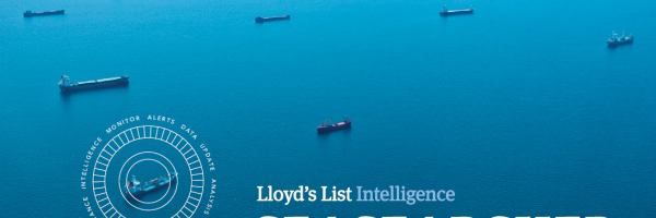 Lloyd's List Intelligence AIS tracking system