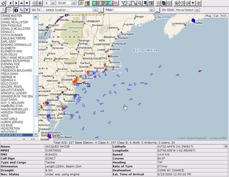 Siitech real time vessel tracking