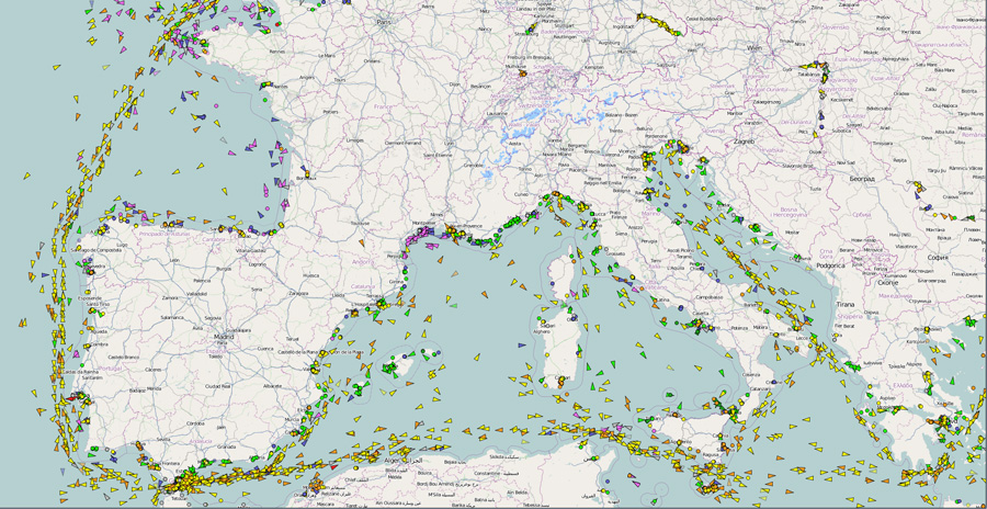 Vessel tracking software by VT Explorer