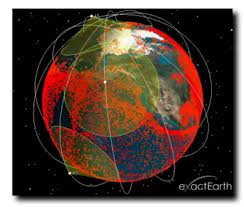 exactEarth Satellite AIS vessel tracking
